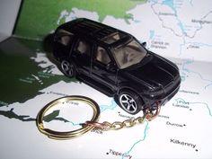 CUSTOM MINT KEYCHAIN 2003 LINCOLN NAVIGATOR SUV,BLACK W/SILVER MAGS #Matchbox
