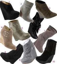 ankle boots are great to pair with skinny jeans they spell sexy and are comfy with any outfit.