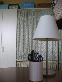 Amazing tutorial for fabrics lampshade