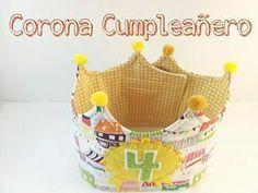 Corona Cumpleaños! / Cosetes de Marta - Artesanio