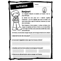 French Videos Funny Student How To Learn French Teaching Code: 7918396876 French Language Lessons, French Language Learning, French Lessons, French Teaching Resources, Teaching French, Lecture Aura, French Basics, Learning French For Kids, French Worksheets