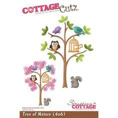 Cottage Cutz Tree of Nature Baum von Prell Versand auf DaWanda.com