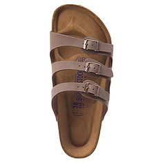 Size 10-10.5 Women's | Birkenstock Florida Soft Footbed - Mocha Birkibuc - FREE SHIPPING at Shoes.com
