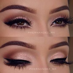 Eye makeup can easily complement your beauty and make you look and feel stunning. Find out the correct way to use make-up so that you can show off your eyes and impress. Learn the top tips for applying make-up to your eyes. Makeup Hacks, Makeup Goals, Makeup Inspo, Makeup Tips, Makeup Ideas, Makeup Tutorials, Makeup Products, Beauty Products, Makeup Geek