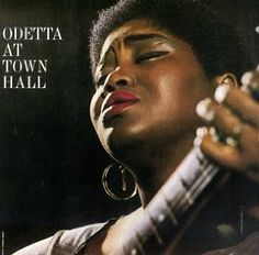 Odetta at Town Hall