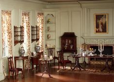 Thorne Rooms at KMA, English Dining Room (detail) by Knoxville Museum of Art