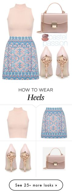 """""""Pastel passion"""" by tamarasimic on Polyvore featuring RALPH & RUSSO, WearAll, Oasis and pastel"""