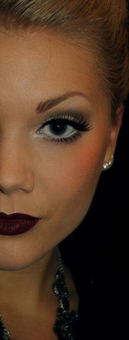 pretty winter makeup<<< this is so happening this weekend!
