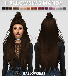HallowSims Mandy - Comes in 18 colours. - Best used with hairline . - Smooth…
