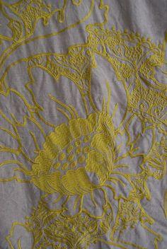 Neutral + yellow   Mokum Fabrics