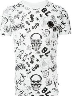 Camiseta estampada manga curta