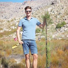 | meet my cedar tree 🌲| There're only an estimated 15 000 Clanwilliam Cedar Trees left of the original +1 million that existed here 200 years ago. This project aims to restock the population by planting 2000 trees per year. Such a great privilege to take part - thanks @capenature.  