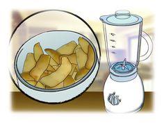 Dicas de jardinagem - Você pode obter um excelente adubo para suas plantas, batendo no liquidificador uma porção de cascas de batata.