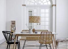 Bloomingville Stühle aus Rattan