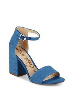 bcdd4be14 SAM EDELMAN Tilly Block Heel Sandals.  samedelman  shoes  sandals