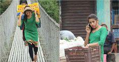 Foto Tarkariwali Penjual Sayur Berwajah Cantik Jadi Viral di Facebook
