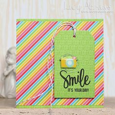 The June Card Kit from @simonsaysstamp is super colourful and bright and I love it. #sssck #cardkit