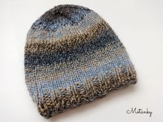 Knit Patterns, Diy And Crafts, Hand Crafts, Knitted Hats, Knit Crochet, Beanie, Knitting, Inspiration, Top Top