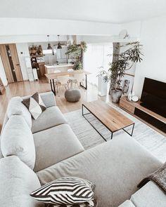 Home Decor Bedroom, Home Living Room, Living Room Designs, Living Room Decor, Living Room Ideas, Spacious Living Room, Bedroom Modern, Home Design, Apartment Interior Design
