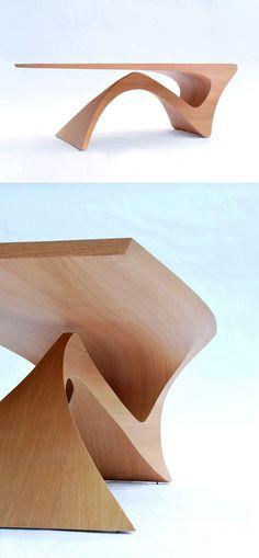 Daan Mulder Form Table-Design