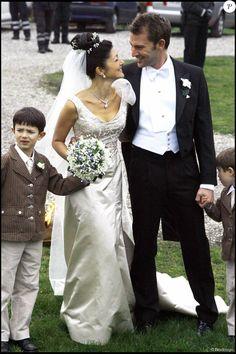 Mariage de la comtesse Alexandra de Frederiksborg, ex-femme du prince Joachim, et Martin Jorgensen le 3 mars 2007 au sud de Copenhague, en présence des princes Nikolai et Felix. La comtesse a annoncé en septembre 2015 leur divorce, après huit ans d'un mariage célébré en mars 2007.