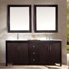 "Found it at Wayfair - Hanson 72"" Double Bathroom Vanity Set with Mirror"