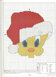 ru / Фото - The Official Holiday Cross Stitch Book - tymannost Xmas Cross Stitch, Cross Stitch Books, Cross Stitching, Cross Stitch Embroidery, Cross Stitch Patterns, Christmas Cartoon Characters, Disney Stich, Baby Looney Tunes, Stitch Cartoon