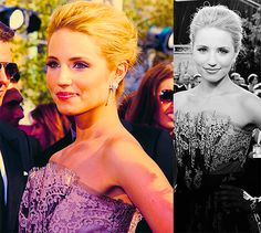 your beautiful and I want to be you- Diana Agron