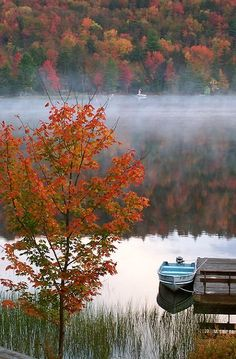 Morning fog.. Big Moose Lake, NY, USA | by jo(e)