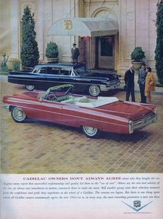 1963 Cadillac Deville Convertible and Fleetwood 75 Limousine