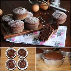 Nutella, Muffin, Breakfast, Food, Morning Coffee, Muffins, Meals, Cupcakes, Yemek