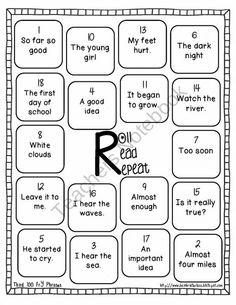 Third Hundred Fry Phrases Fluency Games & Intervention Set