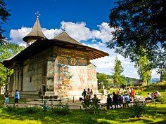 Rumunský klášter Voronet