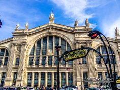 Exterior shot of Gare du Nord!