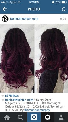I love this!! I'd stay dark brown tho..