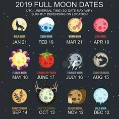 Full Moon tomorrow, Monday, February at EST. Which Moon do you like best? I'm partial to the Pink Moon.