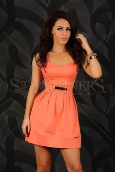 Rochie Ideal Spring Orange