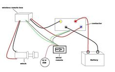 Warn Solenoid Wiring Diagram How To Wire Up A Warn M8000