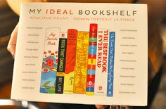 """My Ideal Bookshelf"":  One hundred leading cultural figures share their absolute favorite books."