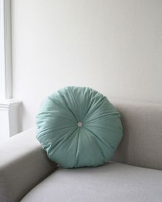 Pouf, Kissen, mint // mint cushion by detailS via DaWanda.com