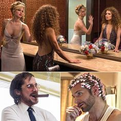 We can't wait to see David O. Russell's American Hustle, which boasts a roster of the director's all-stars like Jennifer Lawrence and Bradley Cooper, when it American Hustle, Bradley Cooper, Jennifer Lawrence, Shia Labeouf, Logan Lerman, 70s Party Outfit, Amanda Seyfried, Rock And Roll Fashion, Perfect Movie