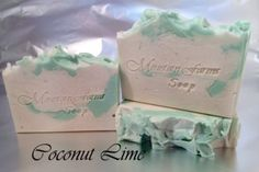 Coconut & Lime   Mountain Farms Soap