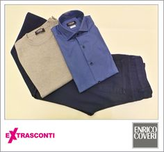 #Shirt / #Camicia - #EnricoCoveri  #Original price: 72.00€ #Outlet #price: 45.00€ #EXTRASCONTI: 35.00€ #Sweater / #Pullover - #Enrico #Coveri  Original: 62.00€ Outlet: 39.00€ EXTRASCONTI: 29.00€ #Trousers #Pantaloni  Original: 94.00€ Outlet: 59.00€ EXTRASCONTI: 45.00€ #Available at Enrico Coveri - #store number 25. http://www.palmanovaoutlet.it/it/outlet/negozi/enrico-coveri