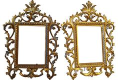 French Bronze Frames, Pair - One Kings Lane - Vintage & Market Finds - Decorative Accessories