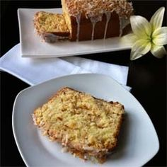 Coconut Buttermilk Pound Cake by ashleymarieskitchen