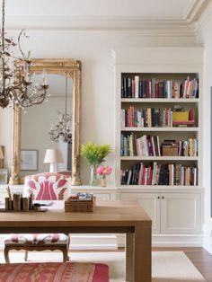 Bookshelf | Colorful home décor ideas | Colorful interior design