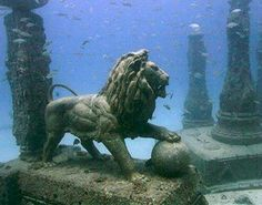 Lost Kingdom Of Cleopatra  Off the shores of Alexandria, the city of Alexander the Great, lies what is believed to be the ruins of the royal quarters of Cleopatra. A team of marine archaeologists led by Frenchman Franck Goddio made excavation on this ancient city from where Cleopatra, the last queen of the Ptolemies, ruled Egypt.