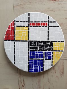 Tile Crafts, Mosaic Crafts, Mosaic Projects, Mosaic Tray, Mosaic Glass, Mosaic Tiles, Mosaic Designs, Mosaic Patterns, Abstract Pattern