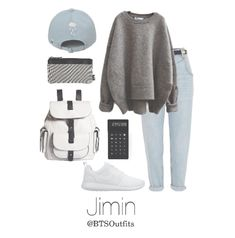 BTS Jimin School outfit