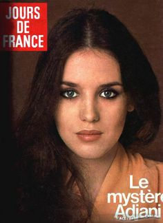 Young Isabelle Adjani (509×700) #cover #joursdefrance